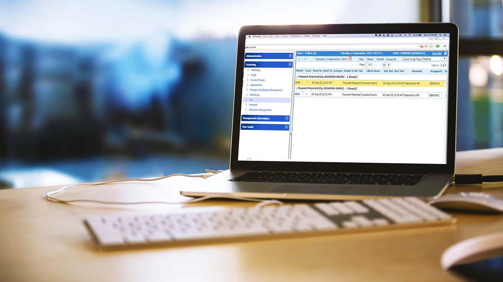 Cloud Invoice Factoring System